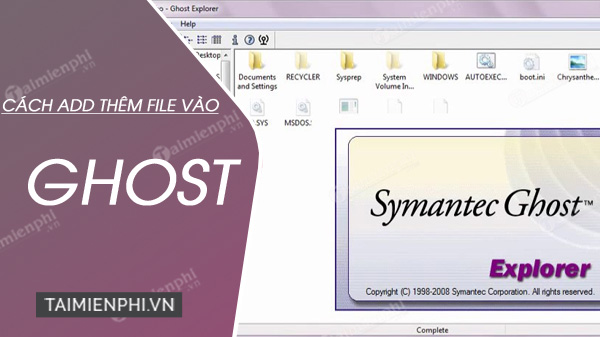 How to add a memo to the ghost file
