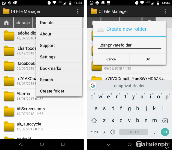 how to fix orange wallpaper on android phone