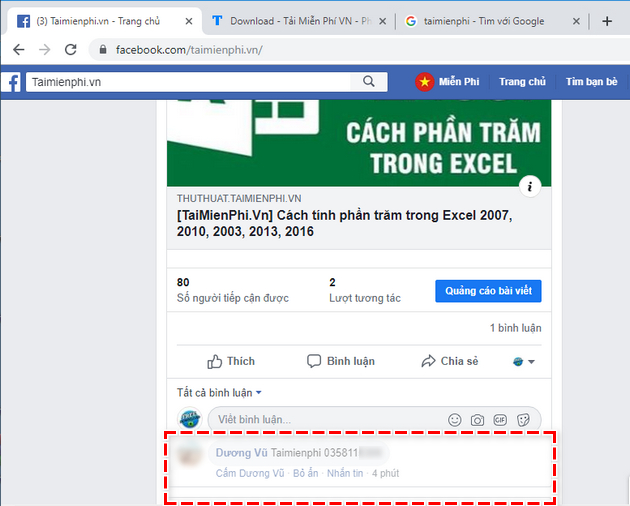 how to secure phone number on facebook fanpage 11