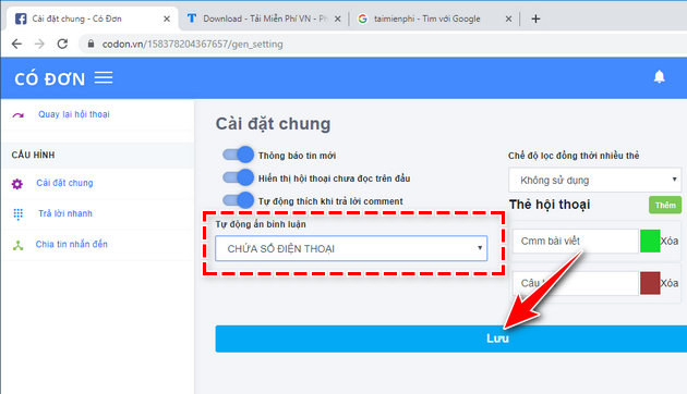 how to secure phone number on facebook fanpage 10