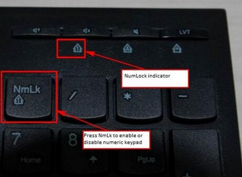 How to activate numlock on lenovo laptop