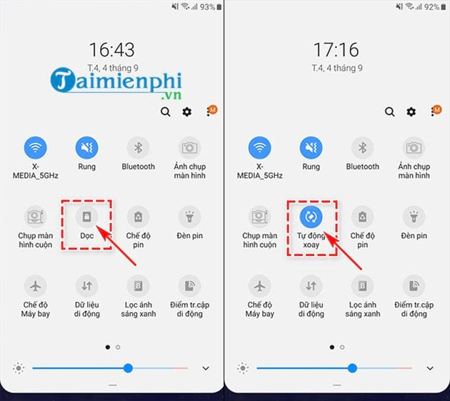 how to turn off samsung screen rotation 3