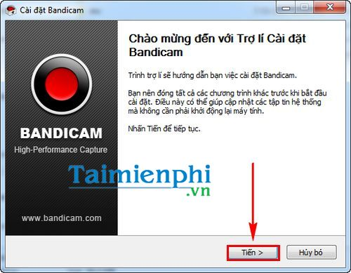 How to set bandicam to turn on computer screen