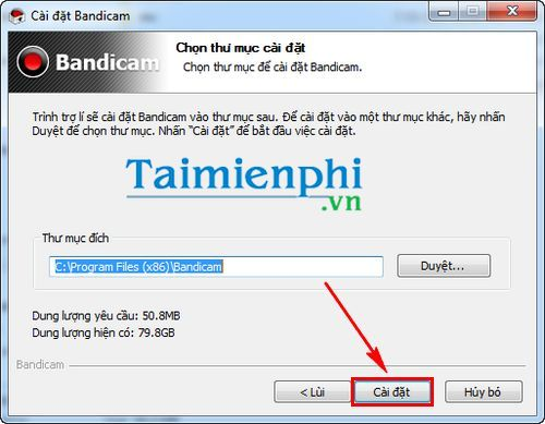 how to set bandicam to turn on the computer screen