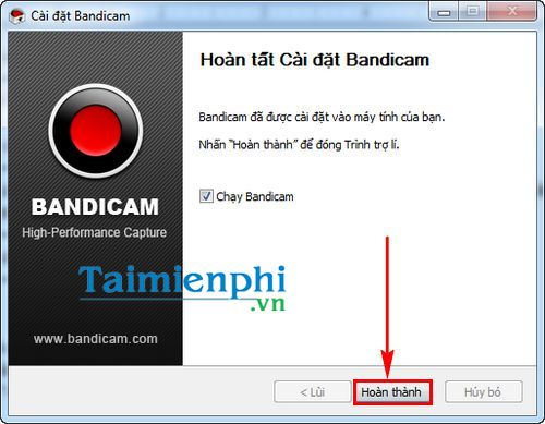 How to set and stop the bandicam screen