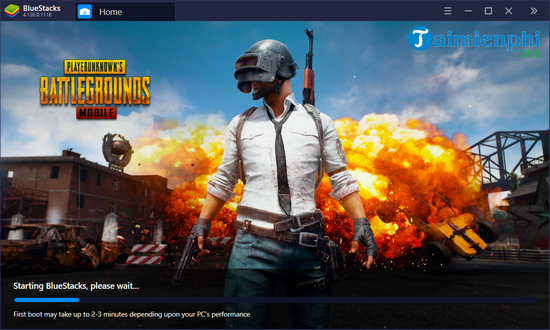 Download and install Bluestacks 4 on your computer