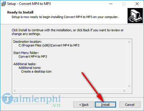 how to install convert mp4 to mp3 5