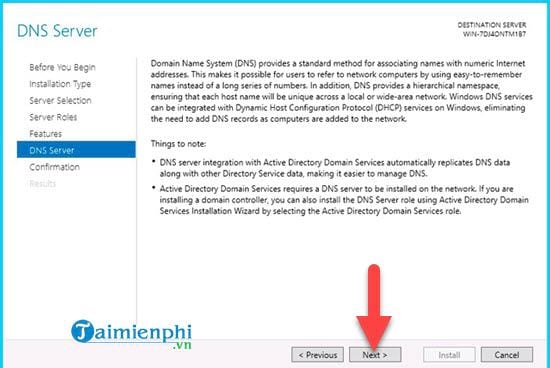 installing dns role in windows server 2012 9
