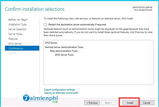 installing dns role in windows server 2012 10