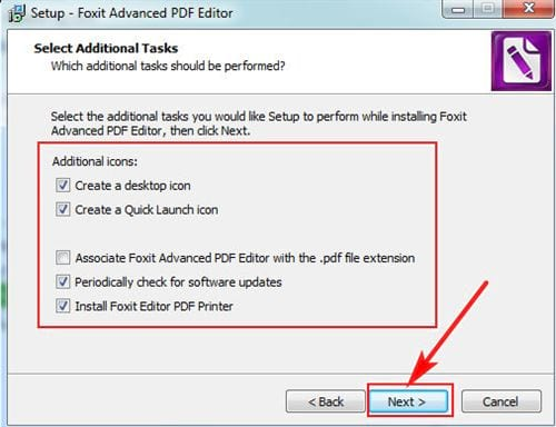 Install the pdf editor