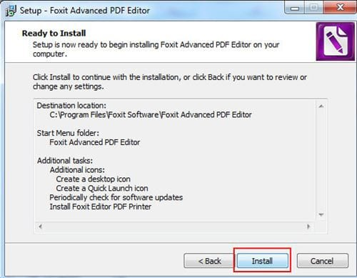 install pdf version on computer