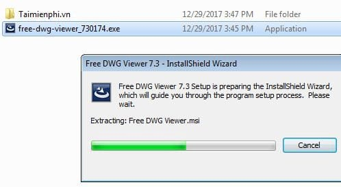 Set free dwg viewer on computer