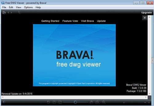 how to set free dwg viewer