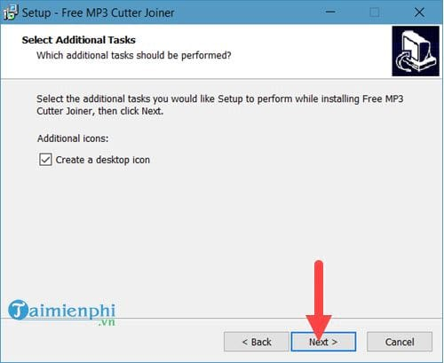 Install free mp3 cutter joiner
