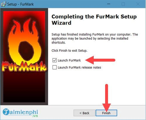 how to set up furmark
