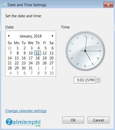 how to set up computer time 11