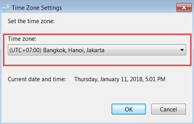 how to set up time on computer 14