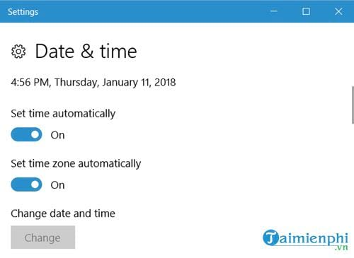how to set up computer time 3