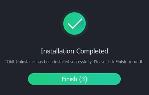 setup iobit uninstaller