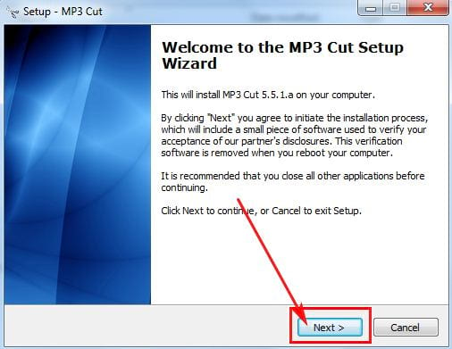 how to install mp3 cut 4