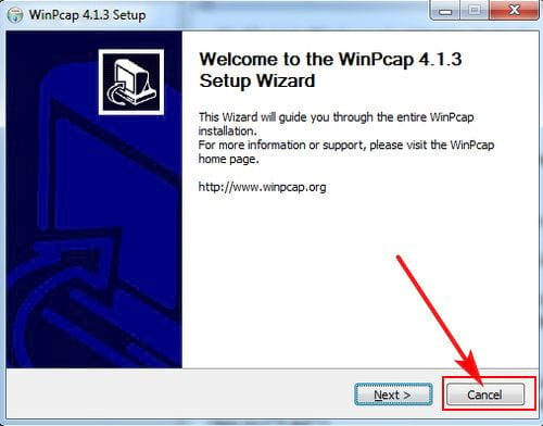 guide to install netcut for pc and laptop