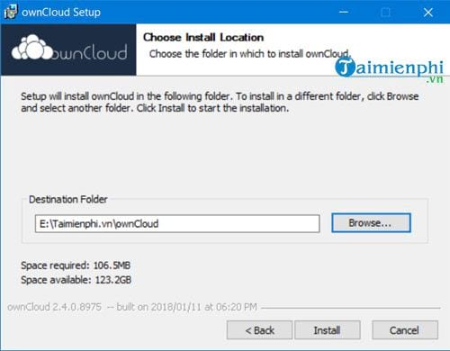 how to set up owncloud on windows to create a free desktop computer 11