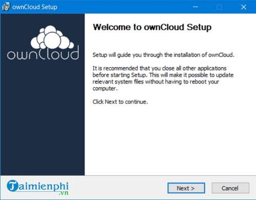 how to set up owncloud on windows to create a free backup 9