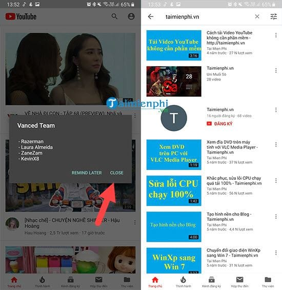 how to set up youtube music when screen off 4