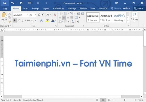 how to install vntime font on laptop computer