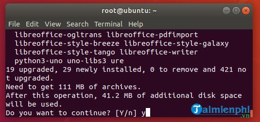 how to install libreoffice on ubuntu linux mint 9
