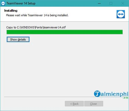 how to set teamviewer 14 5