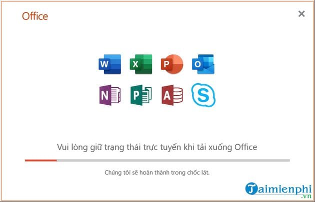 Vietnamese language for office 2019 11