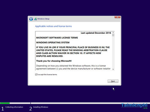 how to install windows 10 creator update state usb 12