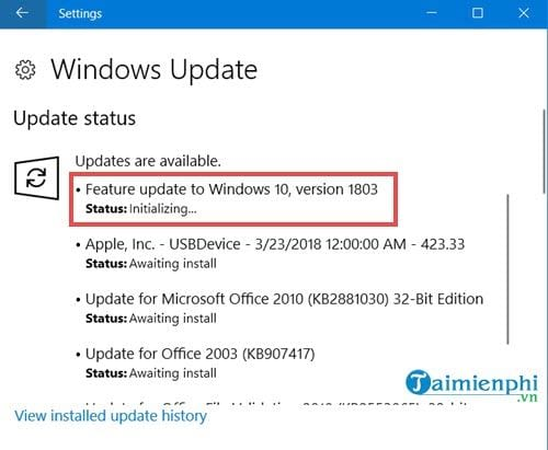 how to install windows 10 spring creators update 15