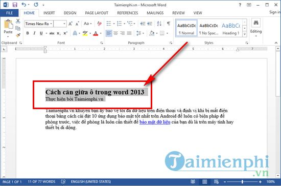 how to stay in word 2013 2