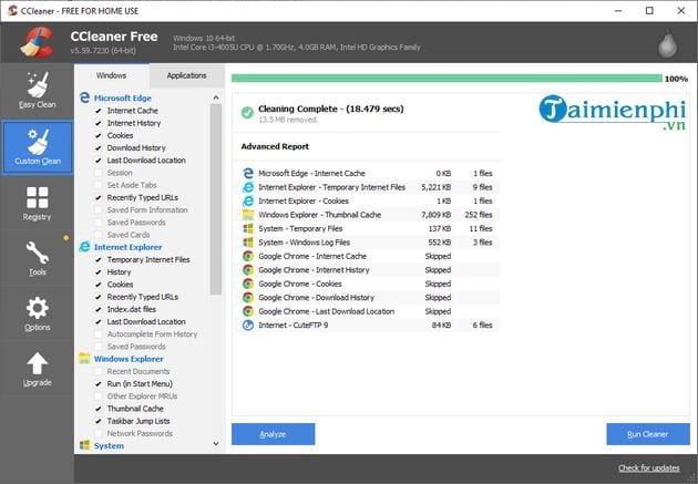 how to update the latest ccleaner 9