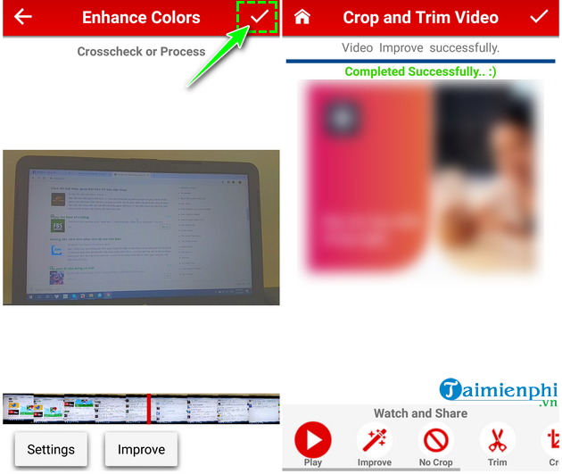 how to cat video on android fast and easy with crop trim video 19