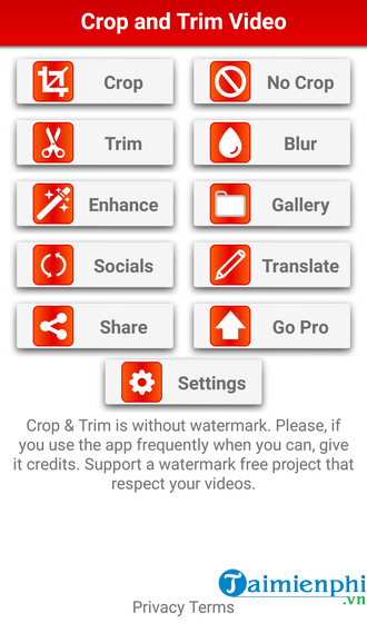 how to cat video on android fast and easy with crop trim video 3