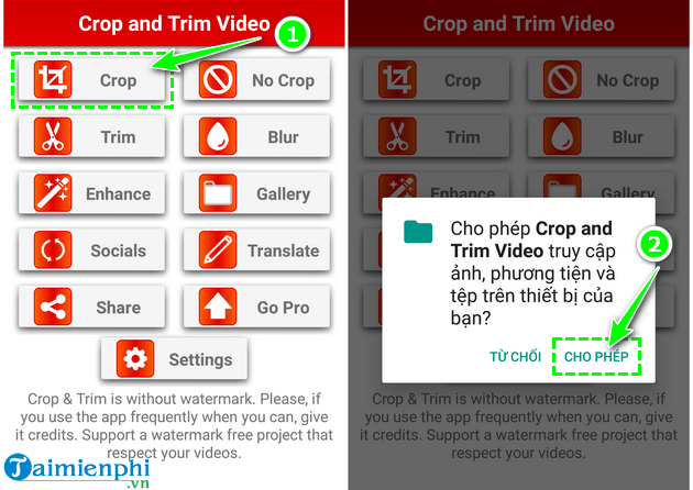 how to cat video on android fast and easy with crop trim video 4
