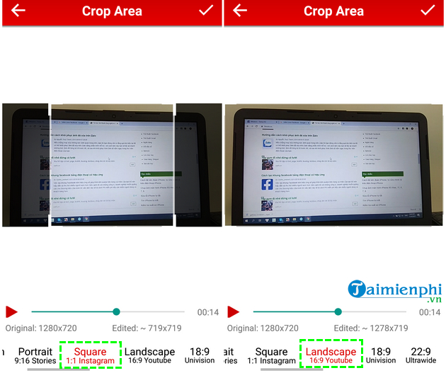 how to cat video on android fast and easy with crop trim video 6