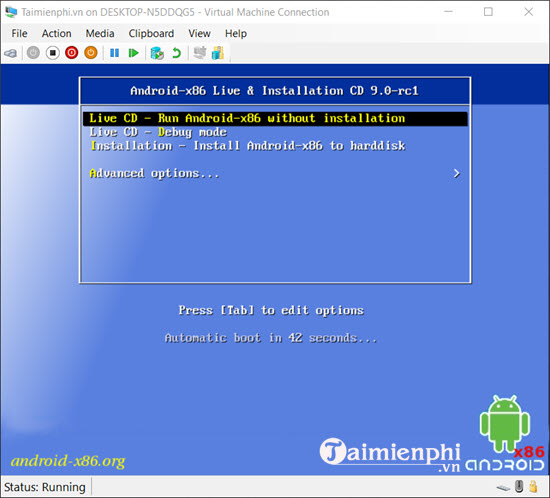 how to run android on a computer without needing to install a firmware 21