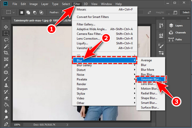 how to cover image in photoshop 7