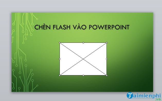 inserting flash into powerpoint 6