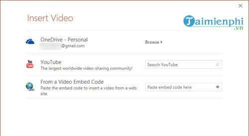 how to insert youtube video into powerpoint lesson 4