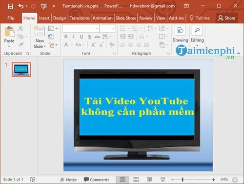 how to insert youtube video into powerpoint lesson 8