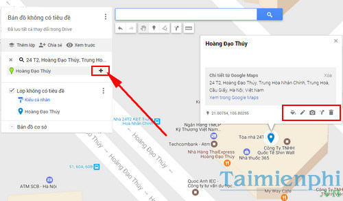 sharing by google maps