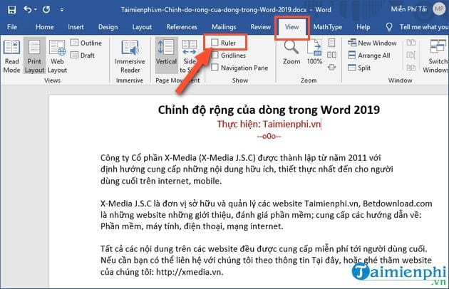 Main ways to work in word 2019 2