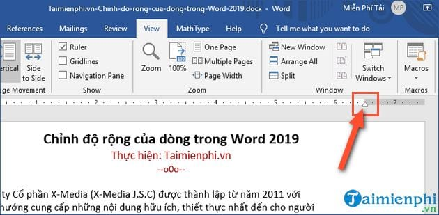 Main ways to work in word 2019 3