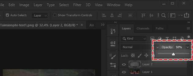 how to fix the problem of film production in photoshop 8