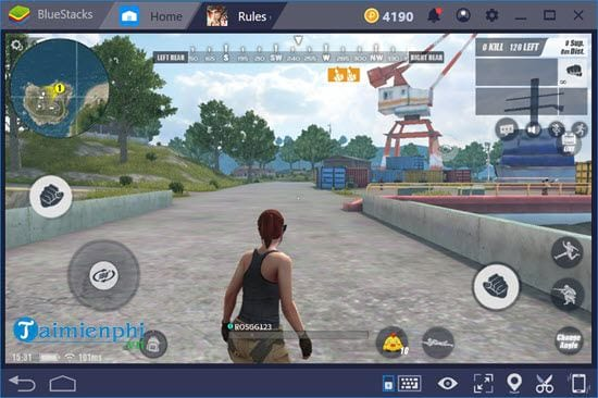 how to play mobile on bluestacks 4 11